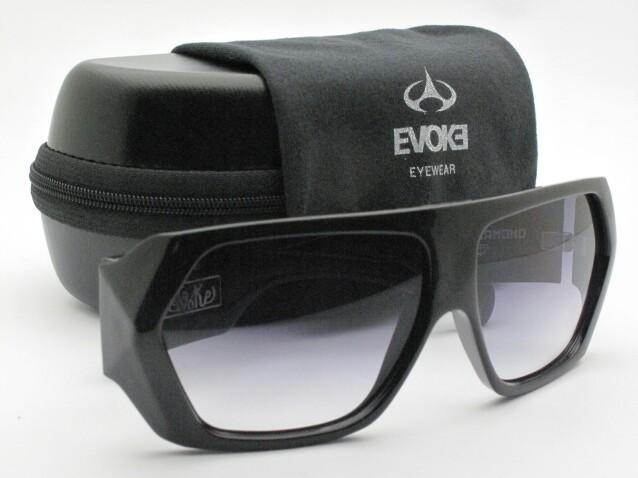 eb076e0f0b1a6 Otica Voluntários - Óculos de Sol - EVOKE - AMPLIDIAMOND - BLK SHINE